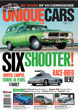 Subscribe to Unique Cars magazine