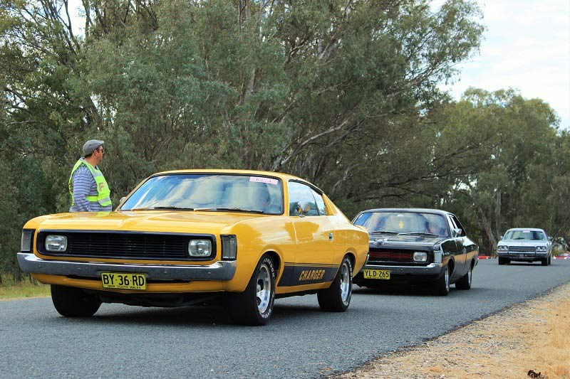 Chryslers on the Murray