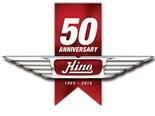 Hino Australia's 50th birthday.