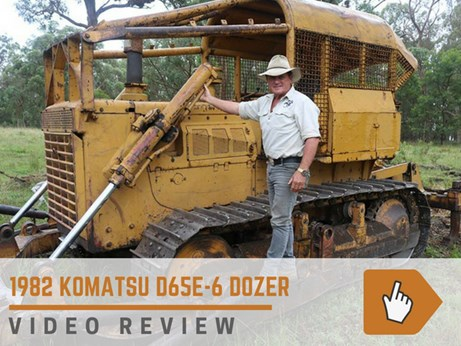 1982 Komatsu dozer