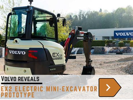 Volvo ex2 excavator