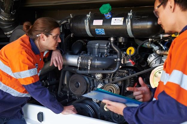 Scania offers upskilling for light duty diesel technicians DSC_2850.jpg