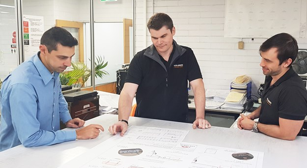 Manufacturing Engineering Leader Brenton McCallum centre.jpg