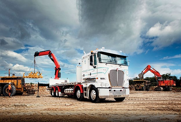 The K200 is the only cab-over on the Australian market with an entirely American powertrain