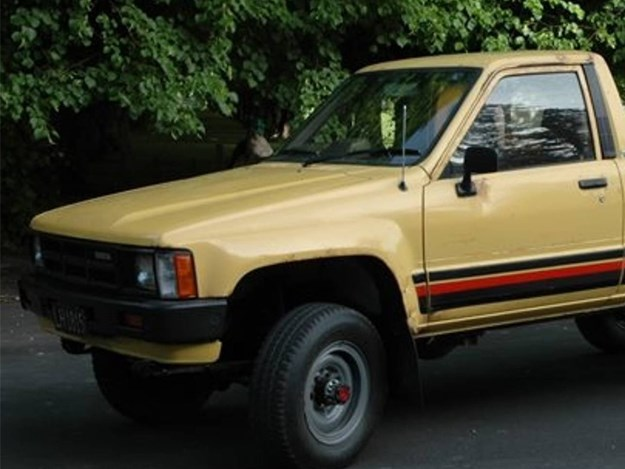 Where are Crumpy's Hiluxes?