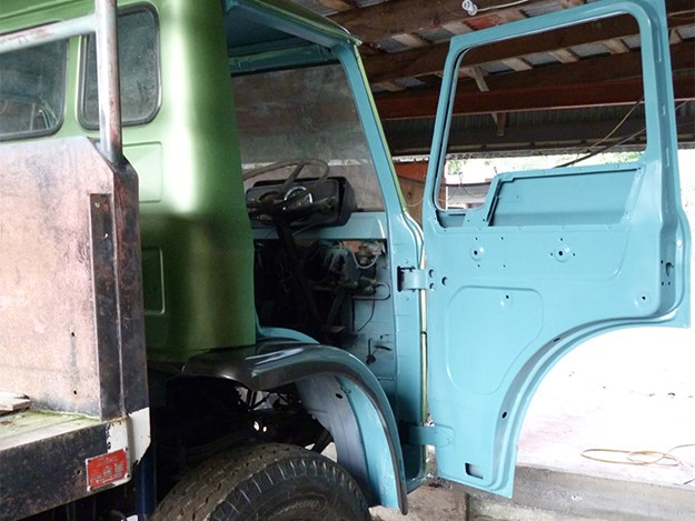 After a bit of adjustment, the driver's door fitted well