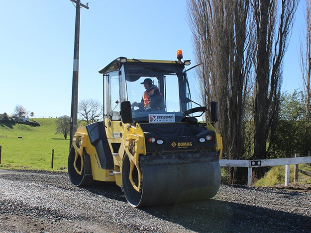 The BOMAG BW151 AD is the second BOMAG roller to join the Crossroads Construction fleet