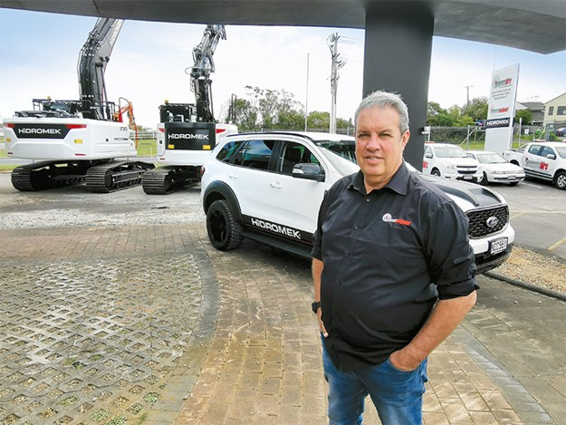 Paul Gorrie, general manager of sales