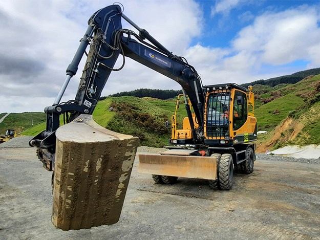 Silverstrand has added two Hyundai R140W-9 wheeled excavators to its fleet in recent years