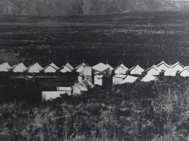 Tent camp Kaingaroa, 1923