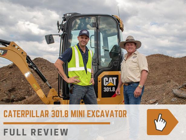 Caterpillar 301.8 mini excavator
