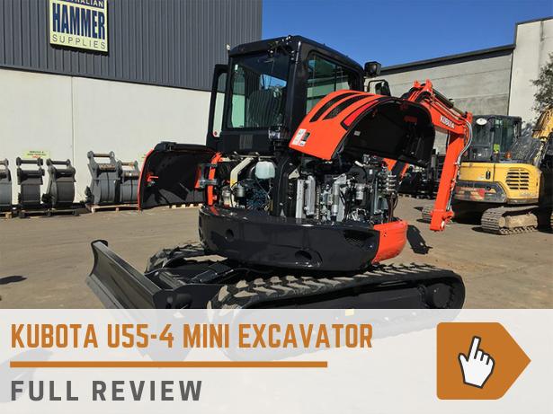 Kubota U55-4 mini excavator