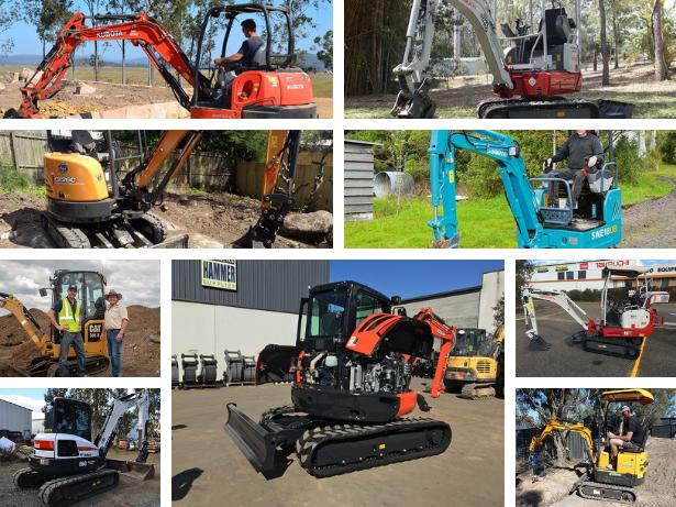 Mini excavator hub 2019
