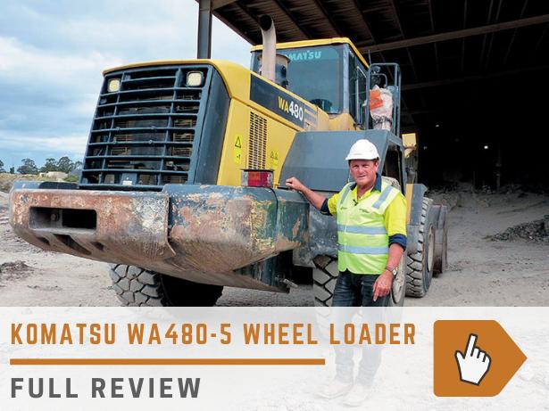 Komatsu WA480-5 wheel loader