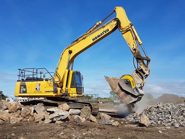 Komatsu-HB215LC-1-excavator