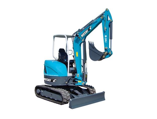 Toyota-Huski-excavator