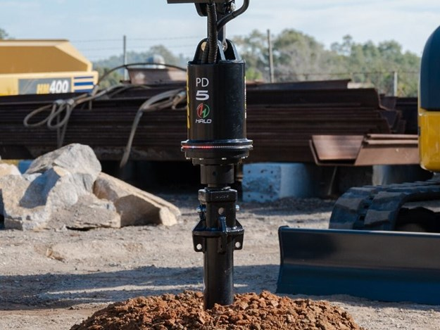 The new Halo Auger alignment system from Digga Australia