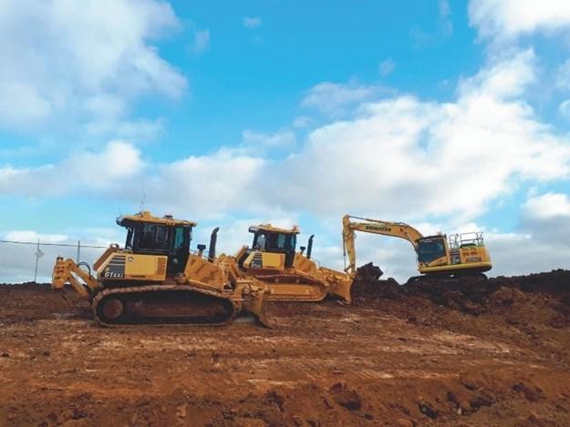 Norris Construction Group has eight IMC machines from Komatsu – ranging from dozers to excavators