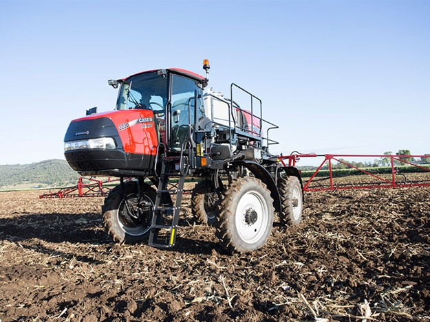 The New Case IH Patriot 2230 face on