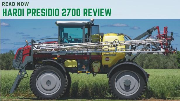 BHardi Presidio 2700 review