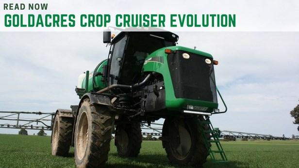 Goldacres crop cruiser evolution review