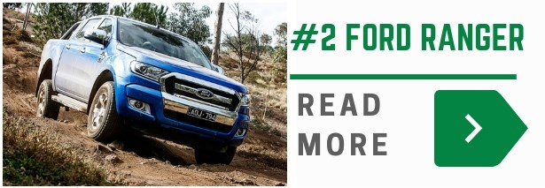 Ford ranger is the 2nd best selling ute