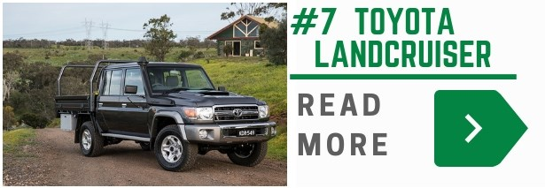 The Toyota LandCruiser 79 series is still one of the best selling utes