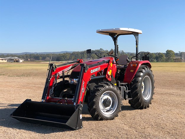 The new Case IH JXM tractor