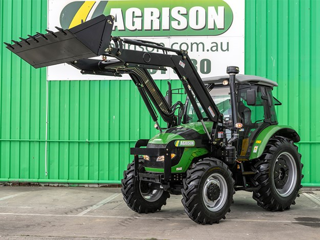 The Agrison 80hp CDF front on