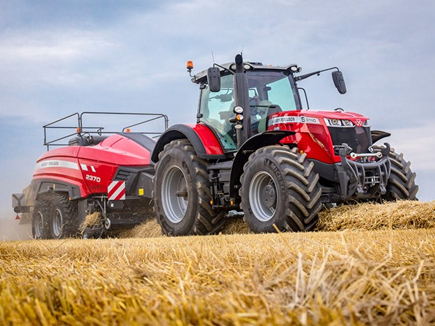The Massey Ferguson S Effect feature for tractors is on its way