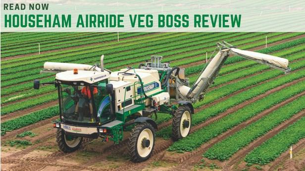 Househam Veg Boss sprayer review