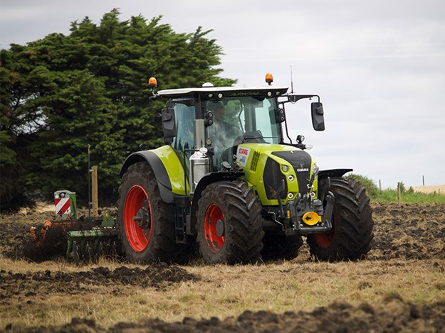 The Brand new Claas Arion 660 tractor