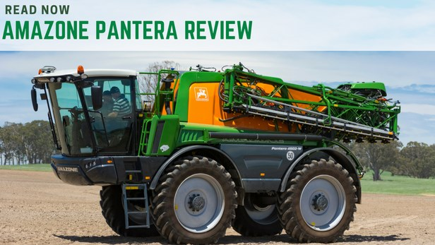 Amazone Panterra 4502 self-propelled sprayer