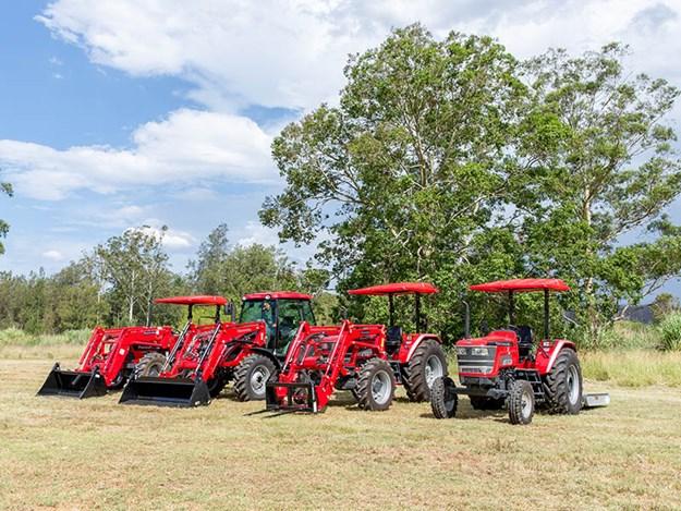 The Mahindra tractor range australia