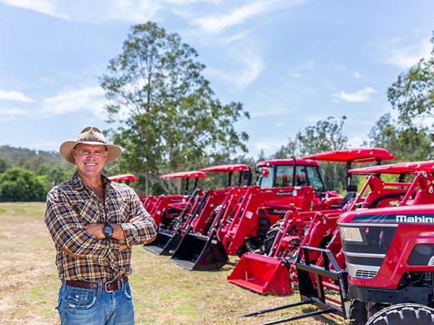 Mahindra tractors and Matt Hayden