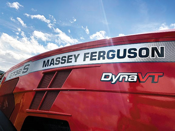 Massey Ferguson bonnet