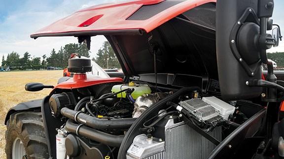 The Manitou's 3.6-litre Duetz engine