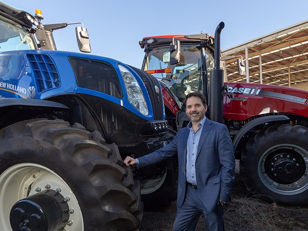 Brandon Stannet, the new CNH Industrial Managing Director – Agriculture, Australia and New Zealand