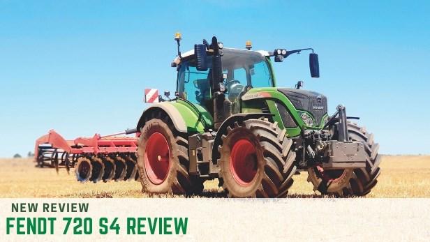 Fendt 720 S4 tractor review