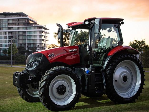 The new Case IH Maxxum 135 tractor