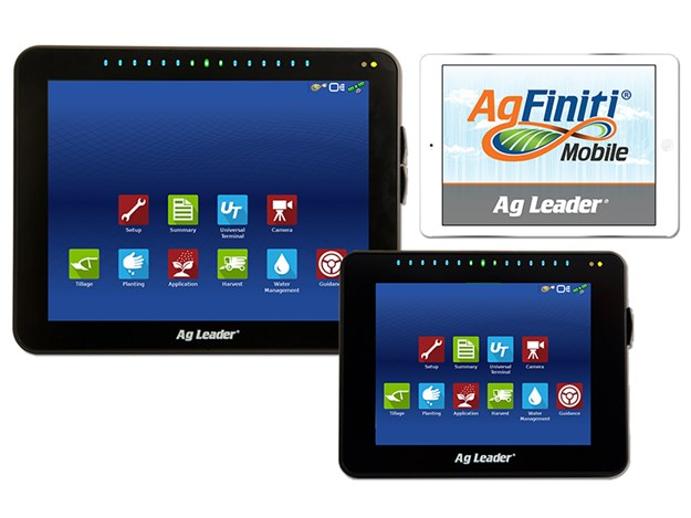 The AgFiniti cloud-based system can transfer data directly between computers without the need for USB transfer