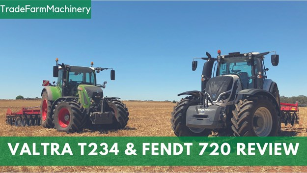 new Valtra T234D and a Fendt 720 S4 review