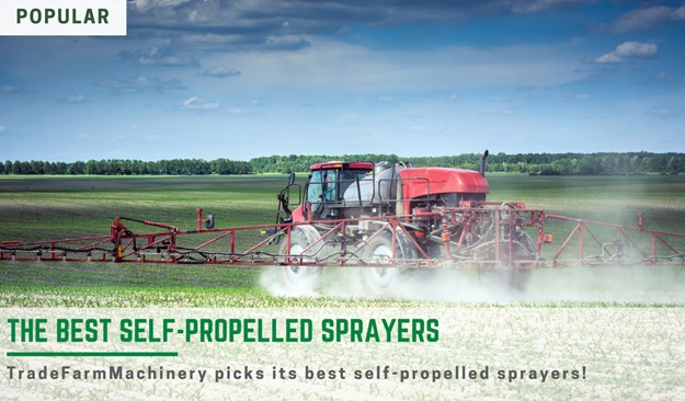 The best self-propelled sprayers