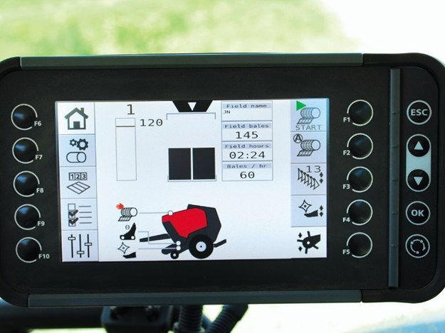 A clear, easy-to-use touchscreen ISOBUS controller