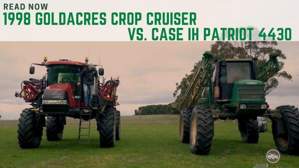 Case IH Patriot vs. Goldacres Sprayer Crop Cruiser