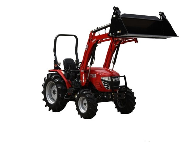TYM's successful T603 tractor range is set to be replaced by a new machine, the TYM T613 60hp tractor