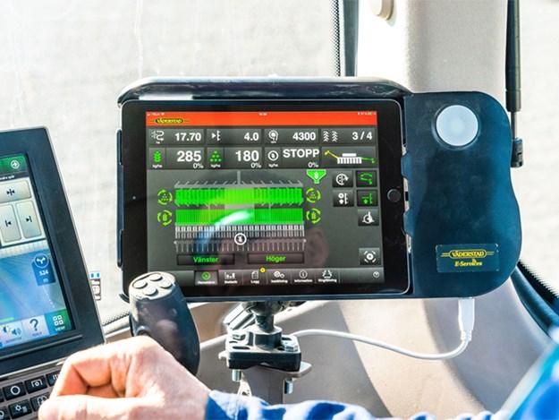The SeedEye monitor from Vaderstad