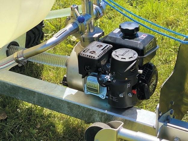 The Tow and Fert Multi 500's Kohler engine