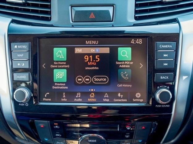 Nissan Nvara touchscreen display