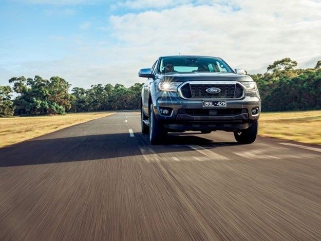 Ford Ranger XLT Bi-Turbo being test for 4x4 australia